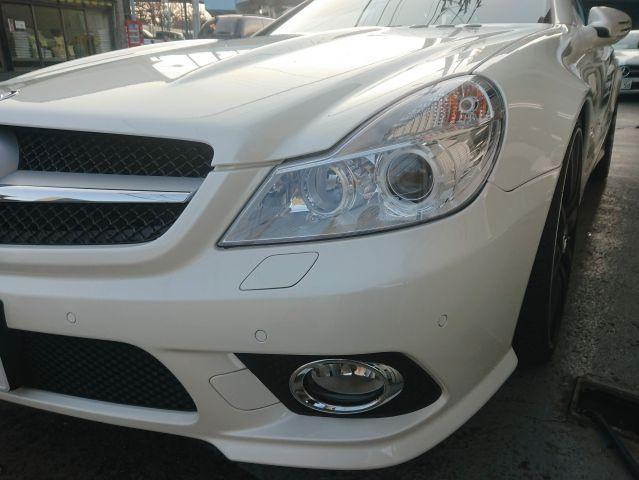 メルセデス・ベンツSL350 AMG仕様 キーレスゴー 純正ナビ右ハンドルご成約0000009446