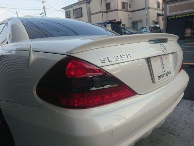 メルセデス・ベンツSL350 AMG仕様 キーレスゴー 純正ナビ右ハンドルご成約0000009449