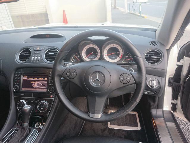 メルセデス・ベンツSL350 AMG仕様 キーレスゴー 純正ナビ右ハンドルご成約0000009462