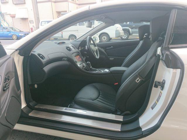 メルセデス・ベンツSL350 AMG仕様 キーレスゴー 純正ナビ右ハンドルご成約0000009466