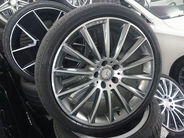AMG(メルセデスAMG)メルセデスベンツマルチスポークホイールタイヤ1台分セット W218CLS用(318)953302