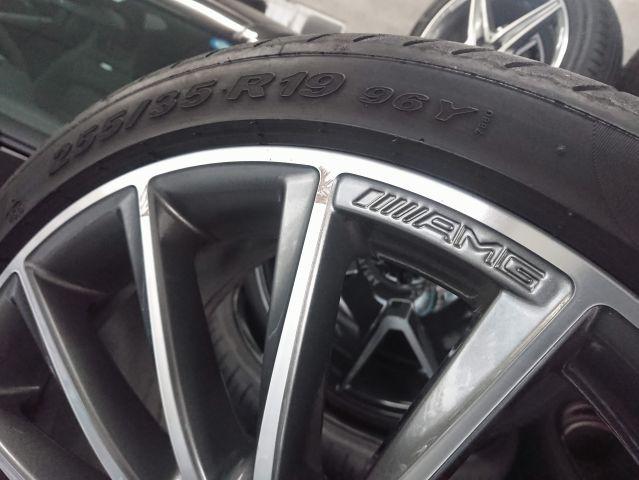 AMG(メルセデスAMG)メルセデスベンツマルチスポークホイールタイヤ1台分セット W218CLS用(318)953402