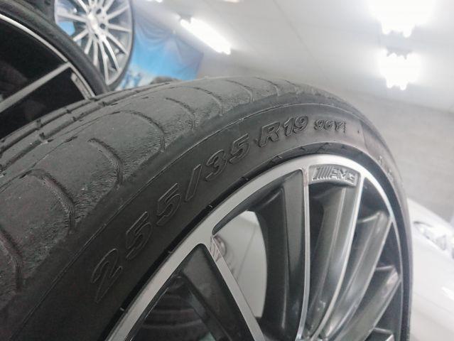 AMG(メルセデスAMG)メルセデスベンツマルチスポークホイールタイヤ1台分セット W218CLS用(318)953602