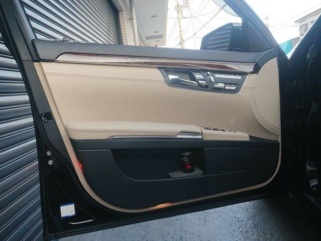 メルセデス・ベンツS550ロング ベンチレーション カールソン20インチ コモベージュ内装ご成約0000009553