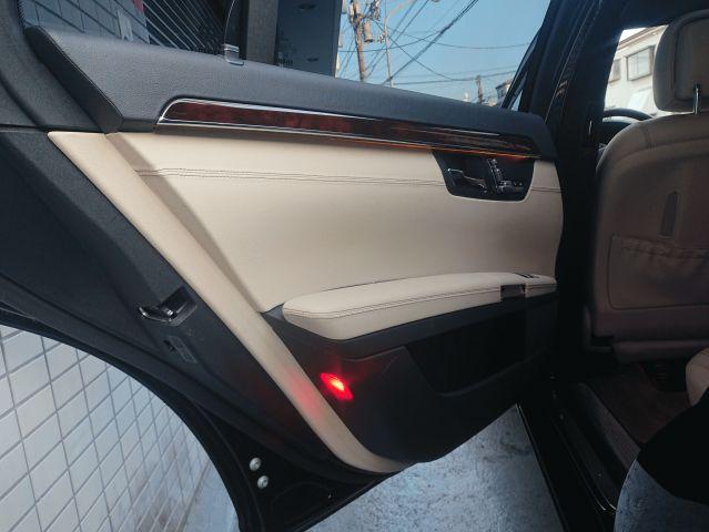 メルセデス・ベンツS550ロング ベンチレーション カールソン20インチ コモベージュ内装ご成約0000009560