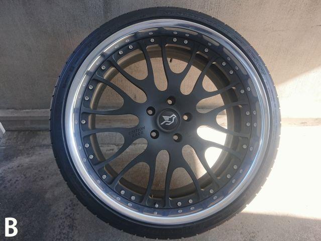 ポルシェHAMANN ハーマン 鍛造EDITION RACE タイヤ、ホイールセット1台分 中古品319959902