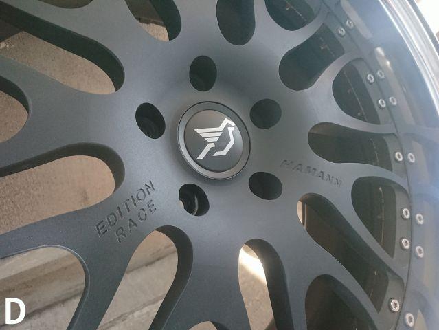 ポルシェHAMANN ハーマン 鍛造EDITION RACE タイヤ、ホイールセット1台分 中古品319961202