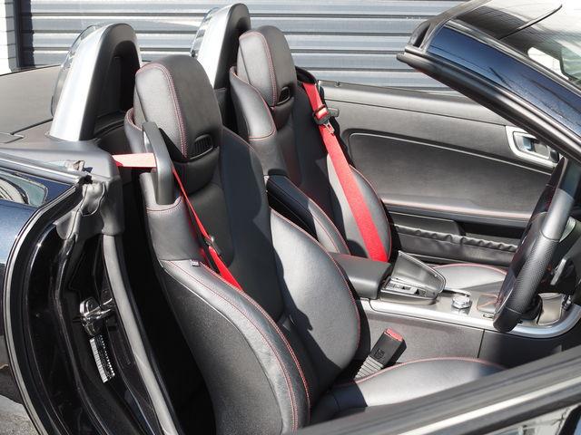 メルセデス・ベンツSLK200スポーツ(AMGスポーツパッケージ)19インチAWローダウン4本出しマフラー  ご成約0000010200
