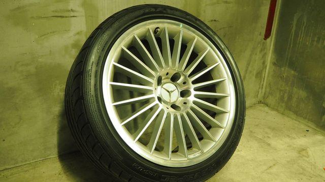 メルセデス・ベンツAMGAMGスタイリング5 タイヤ付きスタッドレス用途等におススメ W219CLS/R230SL(336)1022402