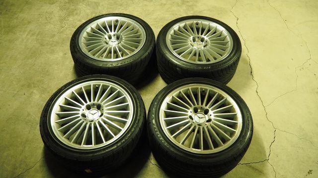 メルセデス・ベンツAMGAMGスタイリング5 タイヤ付きスタッドレス用途等におススメ W219CLS/R230SL(336)1022502