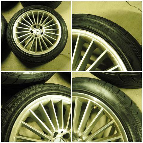 メルセデス・ベンツAMGAMGスタイリング5 タイヤ付きスタッドレス用途等におススメ W219CLS/R230SL(336)1022602