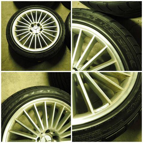 メルセデス・ベンツAMGAMGスタイリング5 タイヤ付きスタッドレス用途等におススメ W219CLS/R230SL(336)1022702