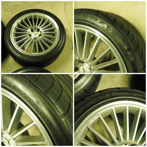 メルセデス・ベンツAMGAMGスタイリング5 タイヤ付きスタッドレス用途等におススメ W219CLS/R230SL(336)1022802
