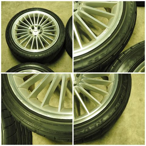メルセデス・ベンツAMGAMGスタイリング5 タイヤ付きスタッドレス用途等におススメ W219CLS/R230SL(336)1022902