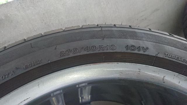 メルセデス・ベンツAMGスポーツパッケージAMG5ダブルスポーク19インチ ブリヂストンポテンザ中古(327)1093402