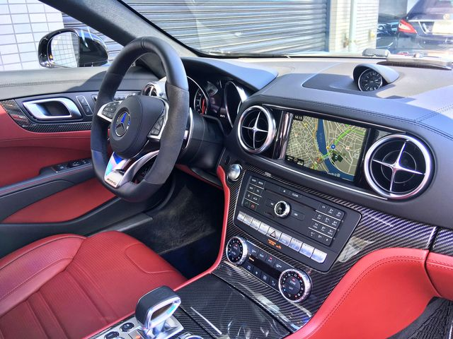 AMG(メルセデスAMG)SL63カーボンインテリアワンオーナー0000011768